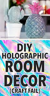diy decor fails craft diy holographic room decor craft fail kavett