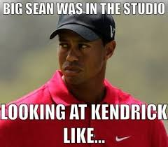 Tiger Woods Meme - tiger woods kendrick lamar control meme hightops and heels