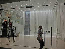 entrance glass door file hk tst 港威大廈 the gateway entrance lobby interior night