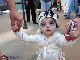 Mummy Halloween Costumes Girls Baby Mummy Costume Photo 4 6