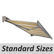 Manual Retractable Awning Verano Porto Manual Awning Standard Sizes Verano Aluminium