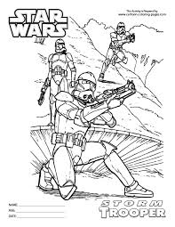 wars stormtrooper coloring pages