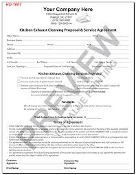 cleaning service agreement template house cleaning service