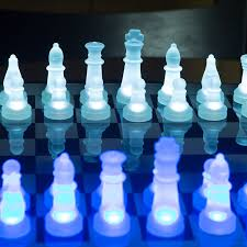 lumisource led glow chess set walmart com