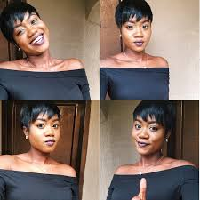 hair weave for pixie cut diy how to make a pixie cut wig natural girl on a budget