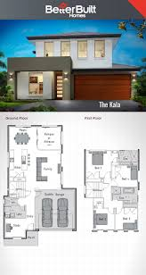residential floor plan architecture drawing double storey bungalow plan three house