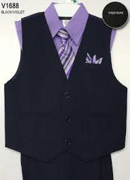 ca v1688ph boys vest set style v1688 peach shirt with black