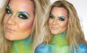 mermaid make up tutorial halloween shonagh scott showme