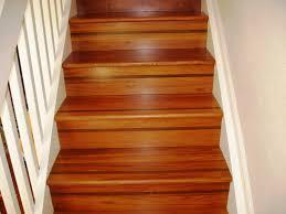 rubber non slip stair treads wooden vinyl plank stair treads