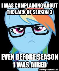 Hipster Meme Generator - rainbow dash is best hipster my little pony friendship is magic