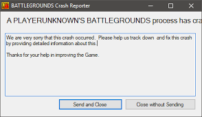 pubg your client version is pubg crashes at launch other threads did not help client