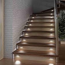 led treppe led treppen stufen sockel beleuchtung einzelleuchte warmweiß