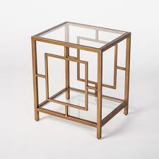 gold accent tables bellacor