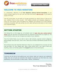 3 good welcome email examples aweber email marketing
