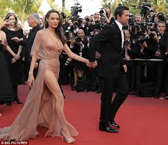 cannes festival 2009 sharon stone steals show from angelina jolie