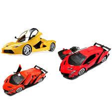Lamborghini Veneno Yellow - lamborghini veneno la ferrari remote control car 1 14 scale 2