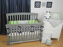Grey And Green Crib Bedding 143 Best Navy In The Nursery Images On Pinterest Baby Cribs