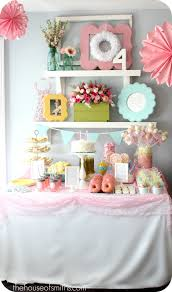 Ballerina Decorations Fairy Ballerina Birthday Party Girly Birthday Decorating Ideas
