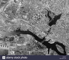 Lake Merritt Map Aerial Map View Above Oakland Downtown Port Estuary Lake Merritt