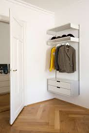 wall mounted shelf hanging rail