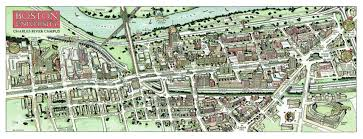 Boston University Map Campus Maps