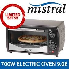 Oven Grill Toaster Qoo10 Mo90d Mistral Electric Oven Toaster With Baking Tray Grill