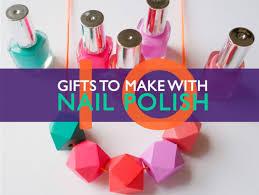 10 great gifts you can make using leftover nail polish inhabitat