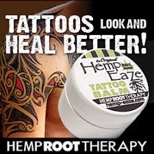 hemp eaze tattoo balm 1 4 oz pocket size