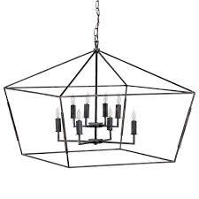 Rectangular Lantern Chandelier Gabby Lighting Arnold Chandelier
