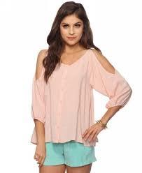 shoulder tops 8 stylish cut out shoulder tops fashion