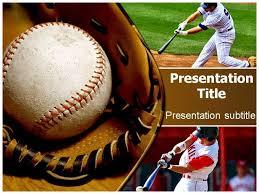 baseball powerpoint templates template idea