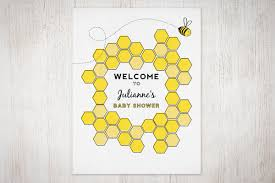 baby shower welcome sign bumble bee baby shower welcome sign the umbrella