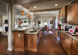 Kitchen Island Columns Traditional Kitchen With Pendant Light U0026 One Wall Zillow Digs