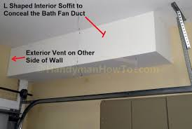 Vent Bathroom Fan To Soffit How To Replace A Bathroom Exhaust Fan And Ductwork Old Vent Duct
