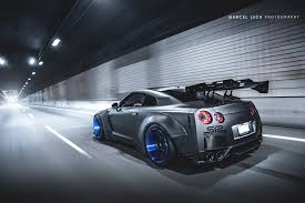Nissan Gtr R35 - the liberty walk gtr r35 looks monstrous in this photoshoot