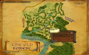 Barrows Map Vol I Book 1 Chapter 10 Into The Barrow Downs Lotro Quest