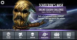 Scarecrow Mask Injustice Mobile Scarecrow U0027s Mask Injustice Online