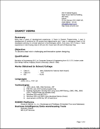 Example Of Resume Doc by Different Types Of Resumes Samples Free Resume Example And