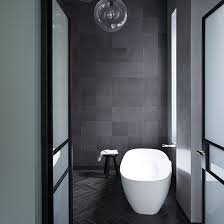 black tile bathroom ideas grey bathroom ideas to inspire you ideal home