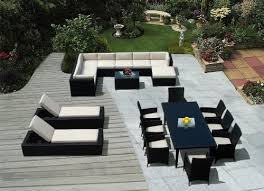 Lounge Chairs For Patio And Modern Outdoor Furniture  Image - Modern outdoor sofa sets
