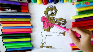 zombie coloring pages plants vs zombies coloring book for kids