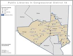 Florida Congressional Districts Map by Libraries In New York Congressional District 18 Library