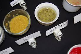 ideas for a halloween party games cook create consume fear factor halloween party games