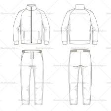 men u0027s sport suit fashion flat template illustrator stuff fashion