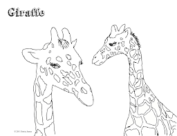 100 coloring pages of giraffes giraffe eating banana coloring