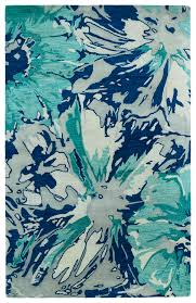 Blue Area Rugs Kaleen Brushstrokes Brs06 17 Blue Area Rug