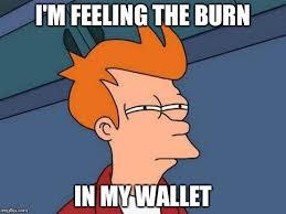 Meme Wallet - futurama fry meme imgflip