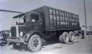 mack trucks mack canvas truck 251 waiting to be unloaded 1936 circus an