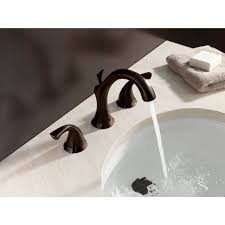Pewter Bathroom Faucet by Faucet Com 3592 Pt In Aged Pewter By Delta