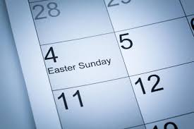 how the easter date is determined